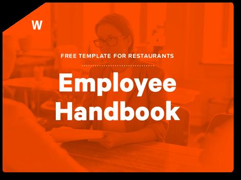 Restaurant Employee Handbook Template | Restaurant Employee Handbook Template