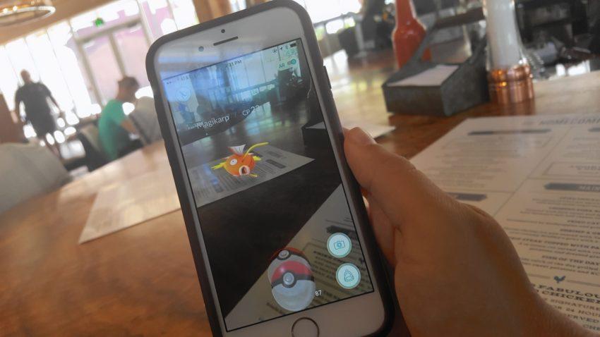 Pokemon Go Restaurants