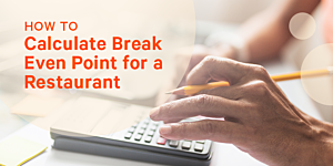 Break Even Analysis How To Calculate Break Even Point For